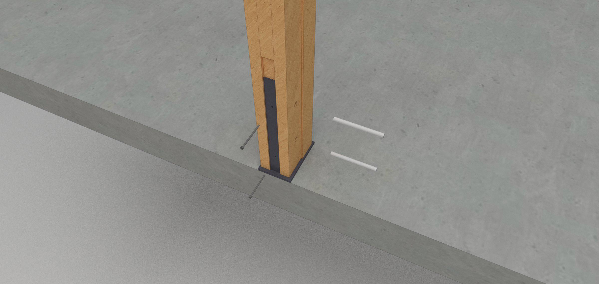 Frame Post Installation
